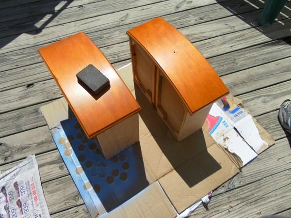 Casinha de Boneca com Gaveta   DIY reciclando móveis; pap casinha de bonecas diy casinha de bonecas